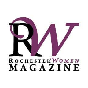 logo for Rochester Women's Magazine