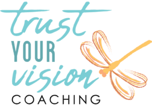 logo for Trust Your Vision Coaching