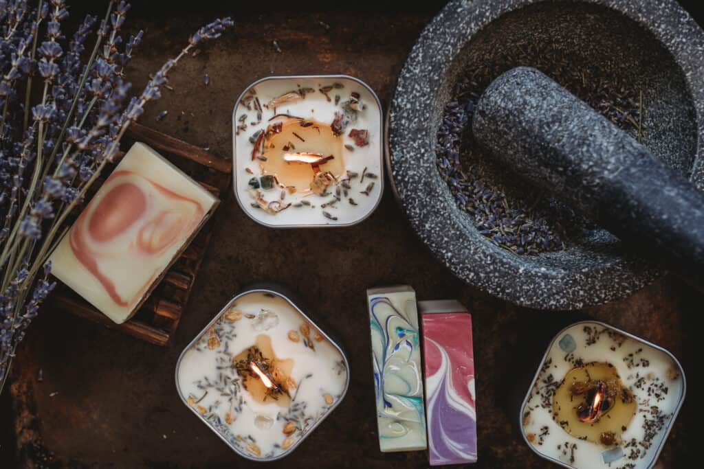 Soaps and other products by MoonCrafted Essentials